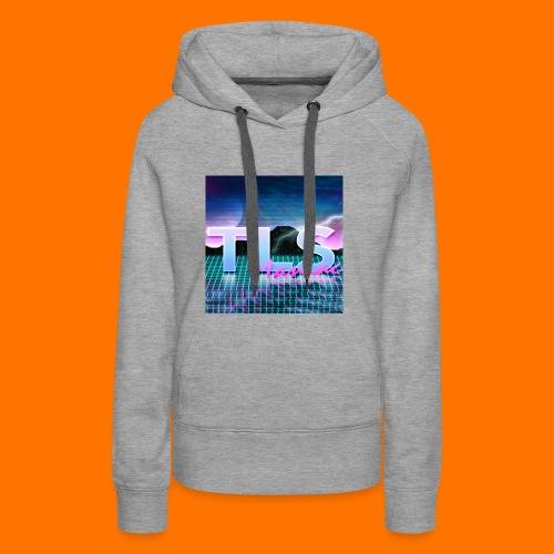 80s Themed TLS Maniac Logo - Women's Premium Hoodie