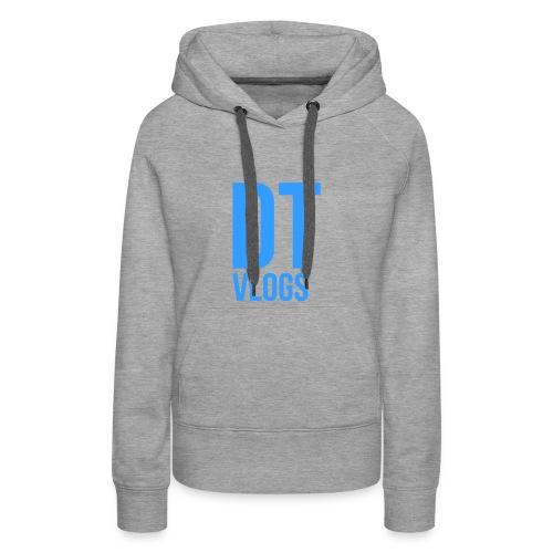 DTvlogs mannen baseball tshirt - Vrouwen Premium hoodie
