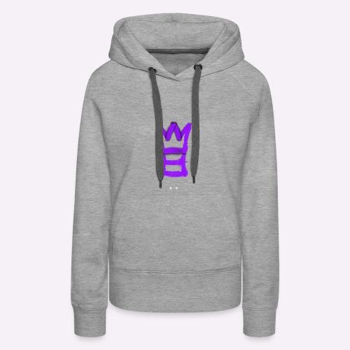 M8 mit Krone - Frauen Premium Hoodie