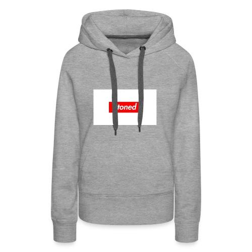 stoned - Frauen Premium Hoodie