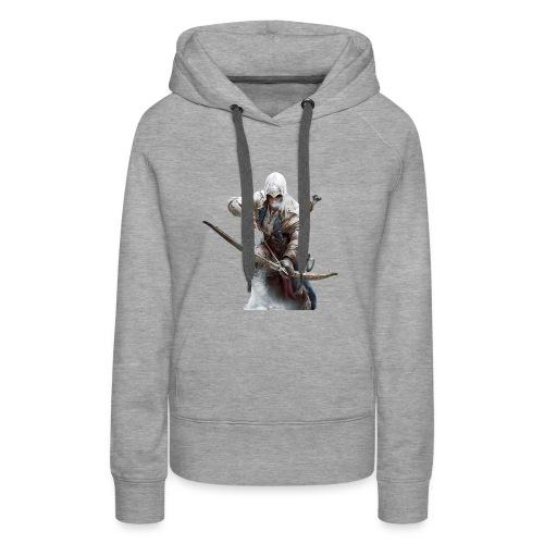 assassin creed - Sweat-shirt à capuche Premium pour femmes