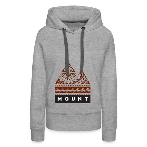 Mountains of the Heart by Te-Moana - Frauen Premium Hoodie
