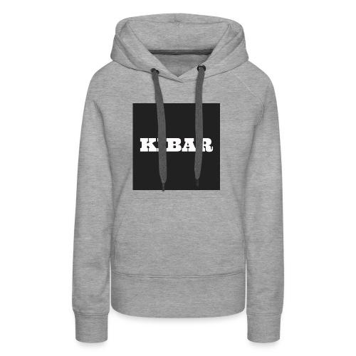 KIBAR - Dame Premium hættetrøje