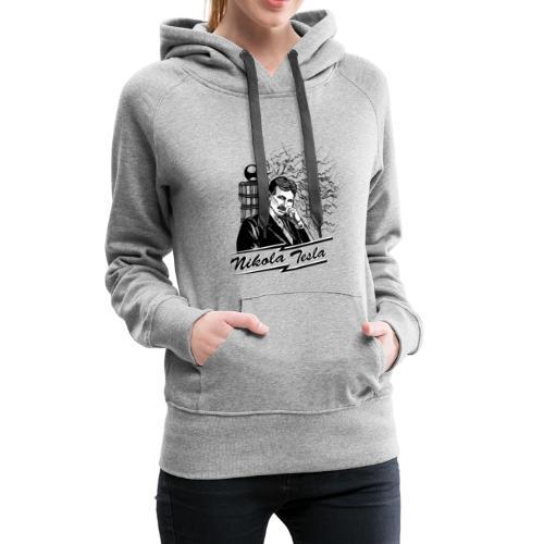 Nikola Tesla - Frauen Premium Hoodie