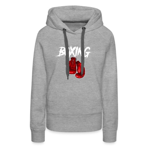 T-Shirt Boxing - Frauen Premium Hoodie