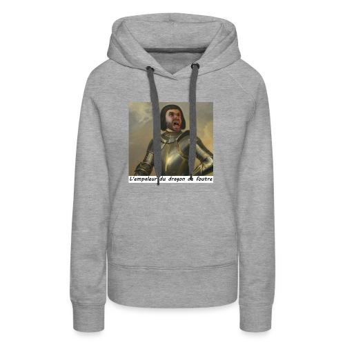 l'empaleur - Sweat-shirt à capuche Premium pour femmes