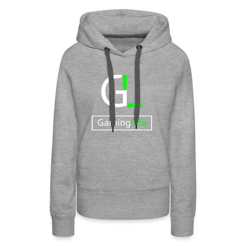 GamingLife Logo 2k18 - Frauen Premium Hoodie