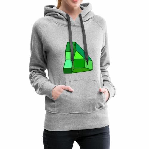 Gruen - Frauen Premium Hoodie