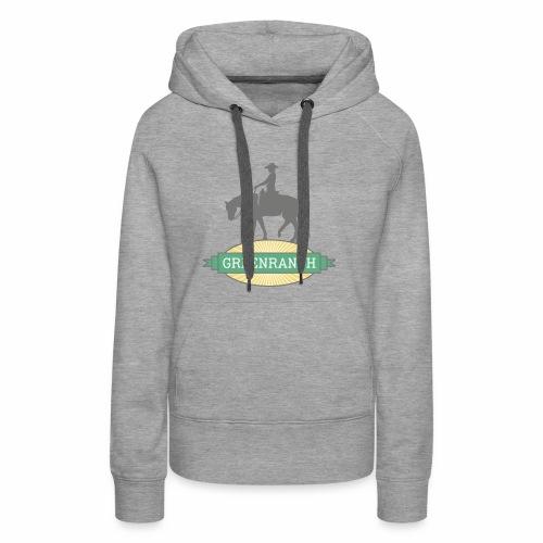 greenranch logo - Frauen Premium Hoodie