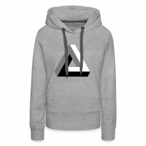 Das trendige Dreieck - Frauen Premium Hoodie
