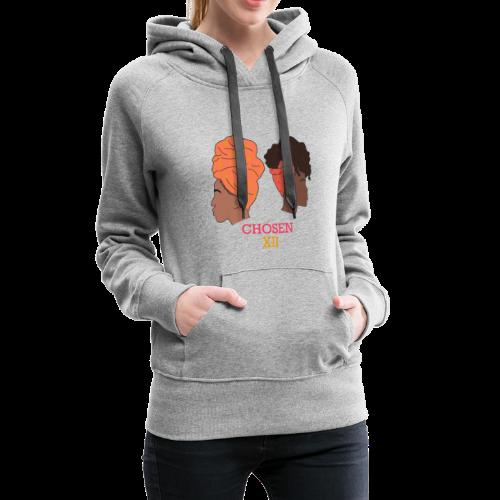 Headwrapped Princesses - Vrouwen Premium hoodie