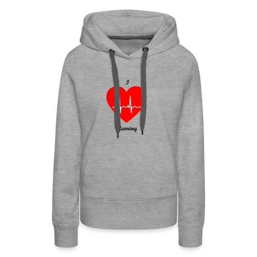 Ilovegaming - Frauen Premium Hoodie