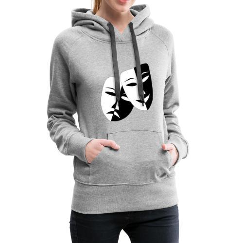 Maske Geschenk Idee - Frauen Premium Hoodie