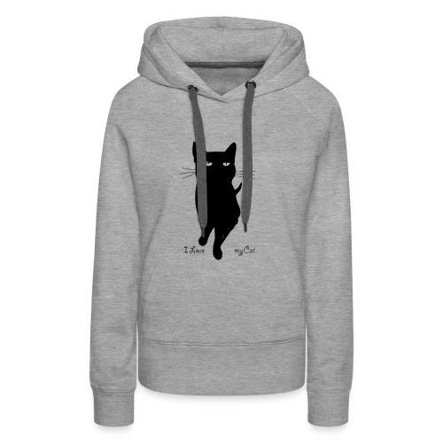 i_love_my_cat - Frauen Premium Hoodie