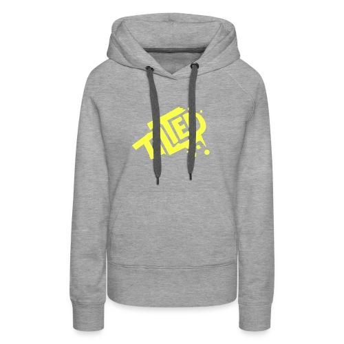 Fortnite Tilted (Yellow Logo) - Women's Premium Hoodie
