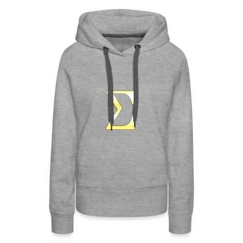 Sigma in Gold - Frauen Premium Hoodie