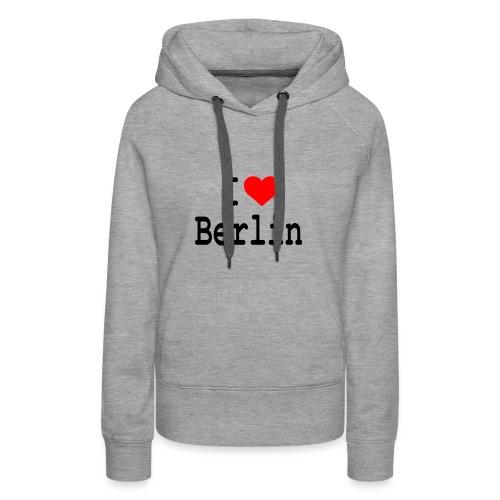 I Love Berlin - Vrouwen Premium hoodie