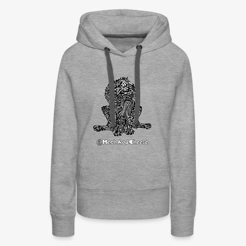 Tribal King MechAndCheese - Vrouwen Premium hoodie