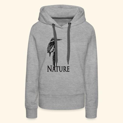 eisvogel Nature - Frauen Premium Hoodie