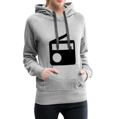 radio10.7logo neu - Frauen Premium Hoodie