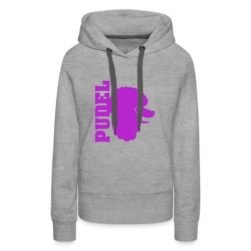 Pudel - Frauen Premium Hoodie