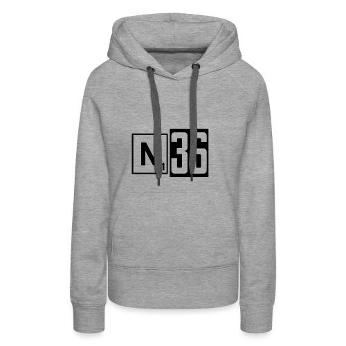 n36_kk - Vrouwen Premium hoodie