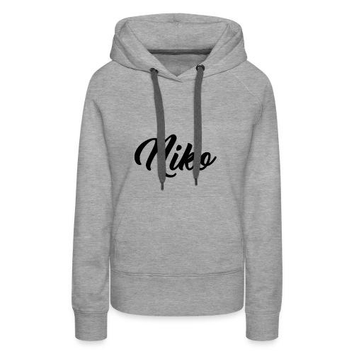 MERCH-Niko - Frauen Premium Hoodie