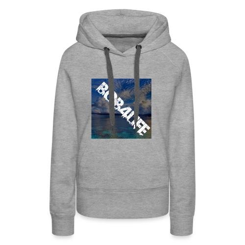 the design is chill. - Women's Premium Hoodie