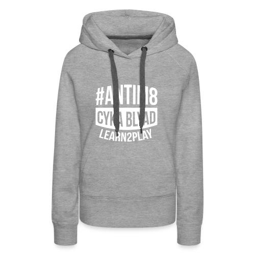 Active-Players.net Merch Collection: #ANTIM8 - Frauen Premium Hoodie