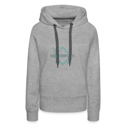 Lukeisnotchilled logo - Women's Premium Hoodie