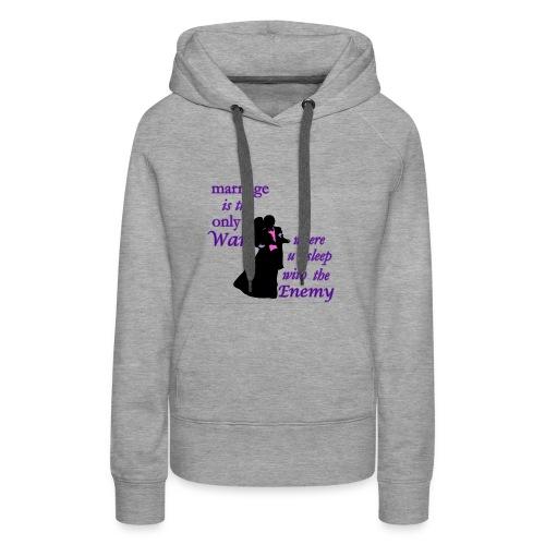 marriage_funny tshirts - Women's Premium Hoodie