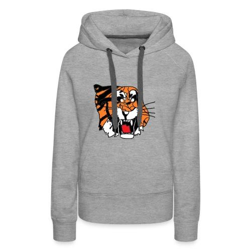 Tigerplaylogo - Frauen Premium Hoodie