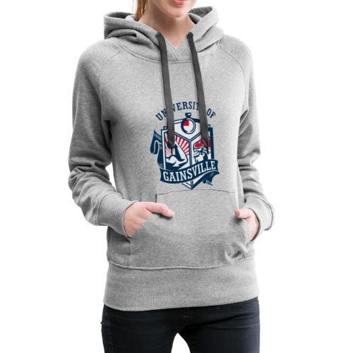 University of Gainsville Logo - Frauen Premium Hoodie