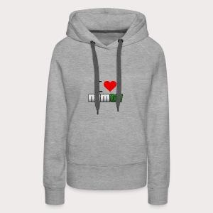 loven3m - Sweat-shirt à capuche Premium pour femmes