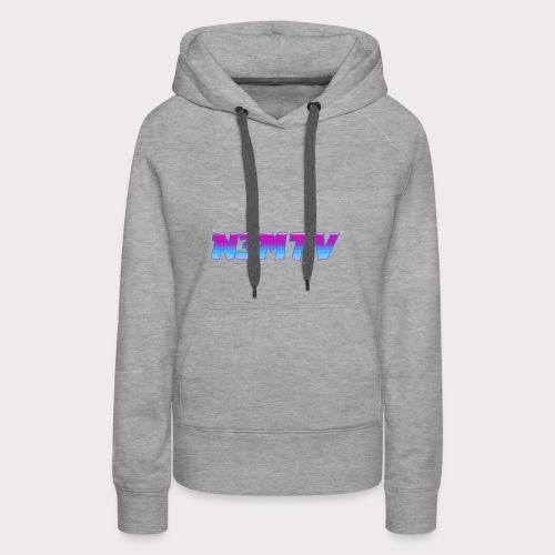Old NEM - Sweat-shirt à capuche Premium pour femmes
