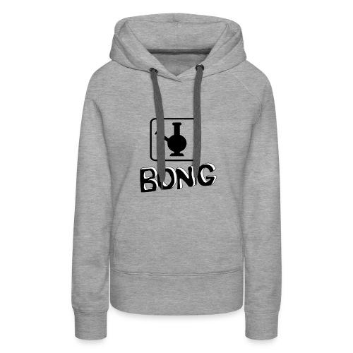 Bong Vase - Frauen Premium Hoodie
