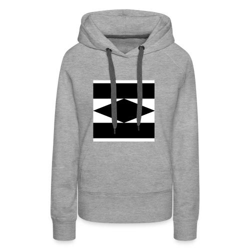 Balken Schwarz - Frauen Premium Hoodie