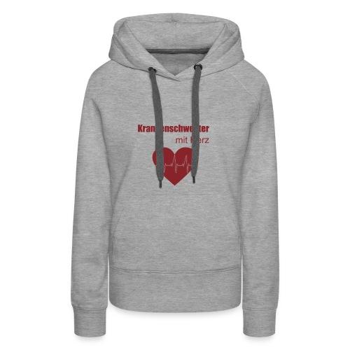 Krankenschwester mit Herz - Frauen Premium Hoodie