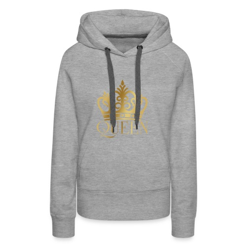 THE QUEEN - Frauen Premium Hoodie