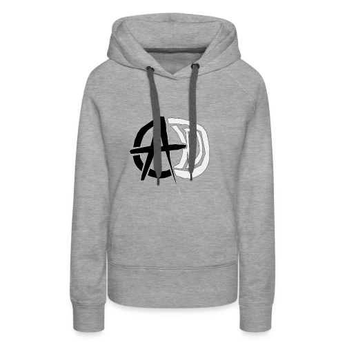 AnarchieD - Sweat-shirt à capuche Premium pour femmes