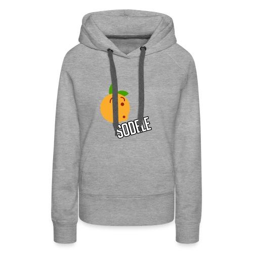 Sodele Orange - Frauen Premium Hoodie
