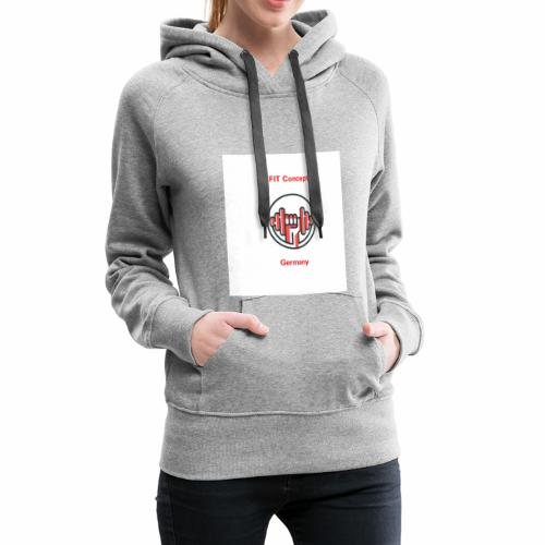 FIT Concept Germany Logo+Beschriftung - Frauen Premium Hoodie