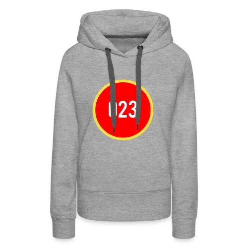 023 logo 2 - Vrouwen Premium hoodie