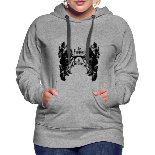 Oxygène - Sweat-shirt à capuche Premium pour femmes