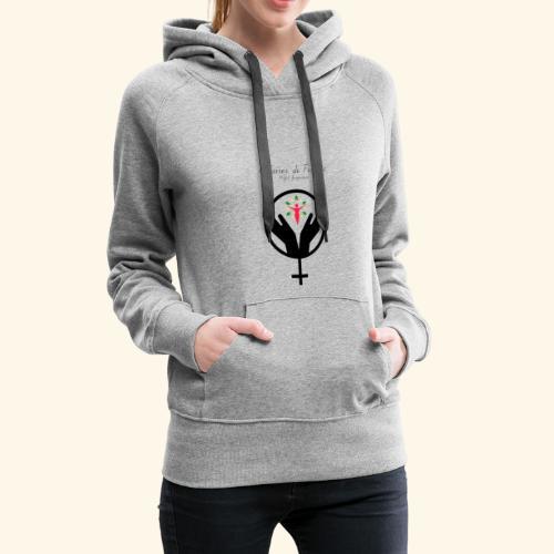 Affaires de Femmes - Sweat-shirt à capuche Premium pour femmes