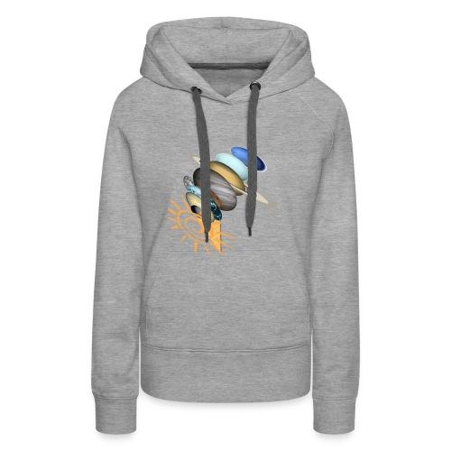 GalaktischesEis - Frauen Premium Hoodie