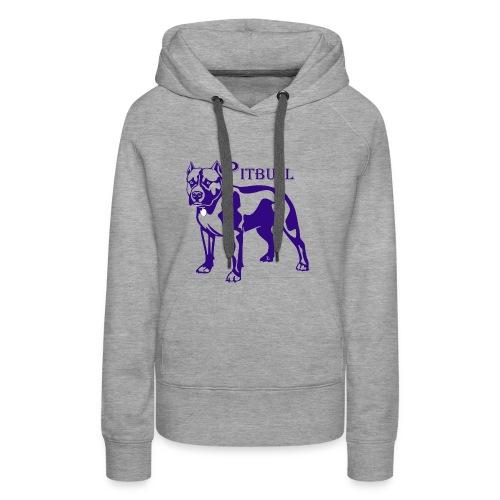 pitbull - Sweat-shirt à capuche Premium pour femmes