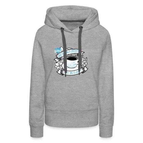 I Like You To Latte White - Vrouwen Premium hoodie