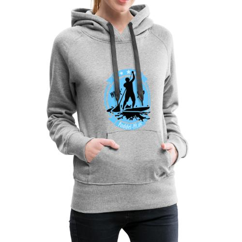 What`SUP. SUP Board Stand Up Paddling Sport - Frauen Premium Hoodie