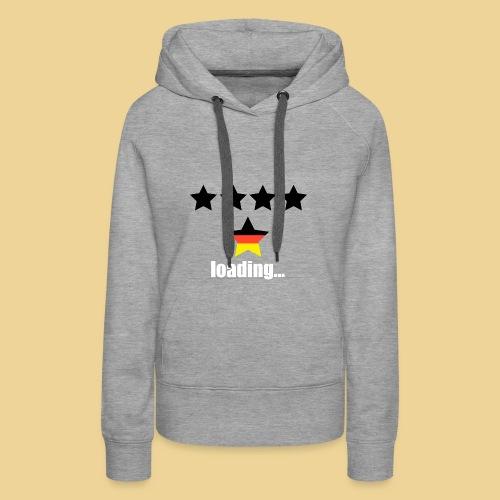 5th star loading - Germany - WorldCup 2018 - Frauen Premium Hoodie